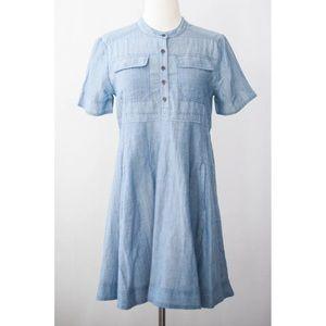 dc490a6fa48 Anthropologie Dresses - Anthropologie Holding Horses Burnett Shirtdress